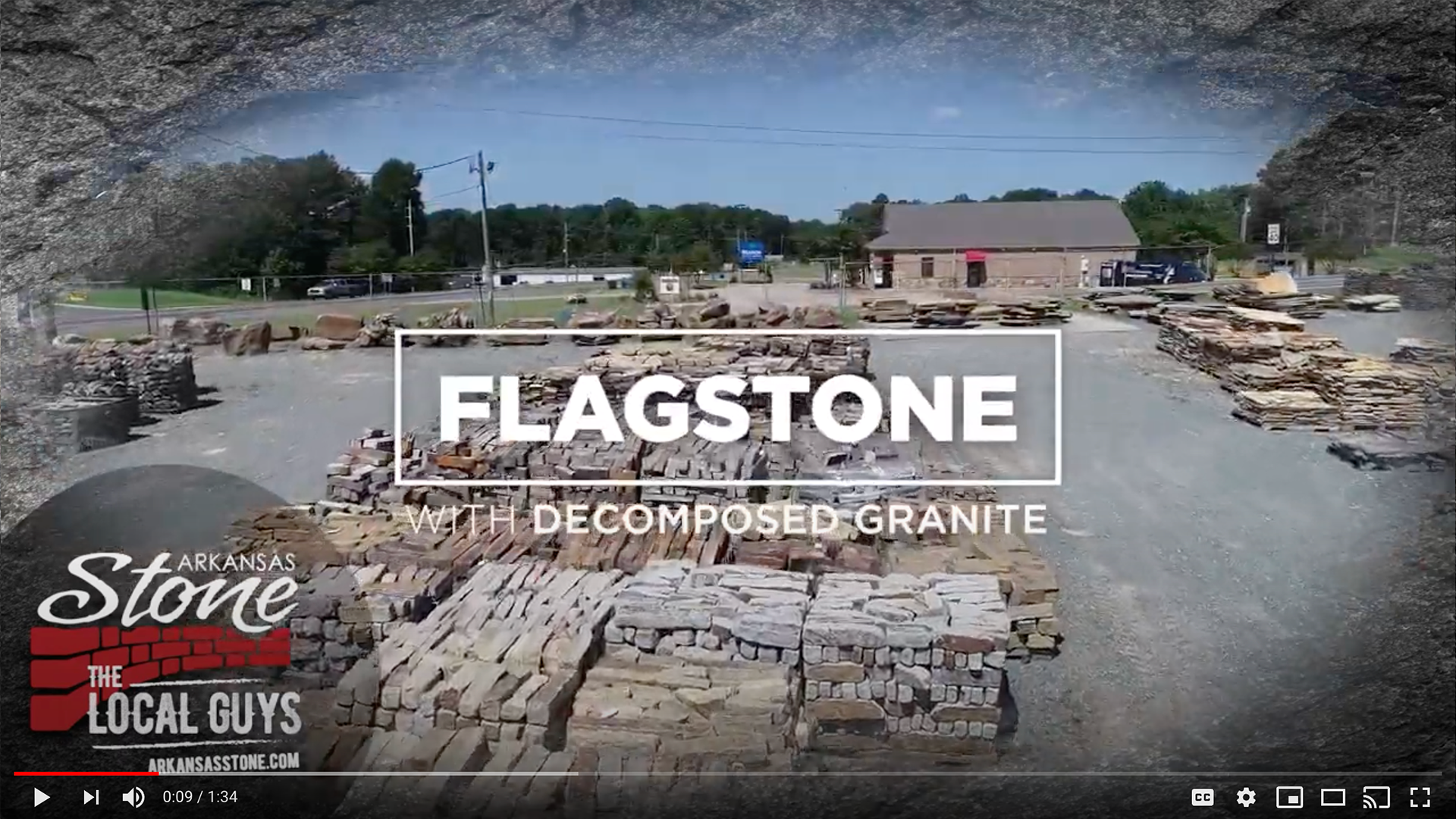 Flagstone With Decomposed Granite Arkansas Stone